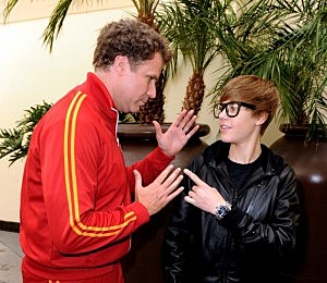 Will Ferrell and Justin Bieber