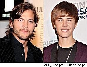 Ashton Kutcher & Justin Bieber