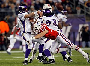 Minnesota Vikings v New England Patriots