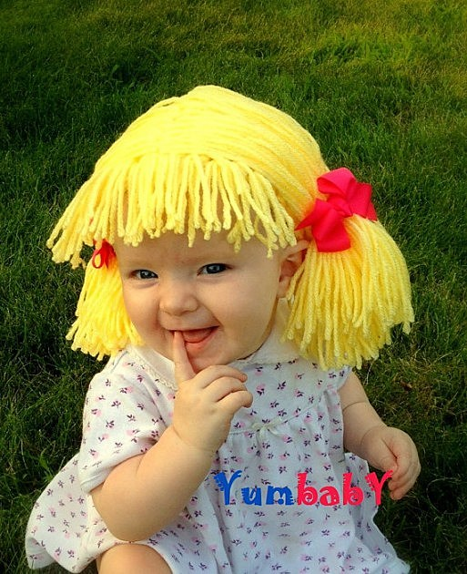 Cabbage Patch Wig - Etsy