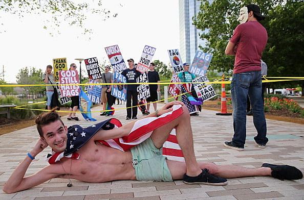 Westboro Protest