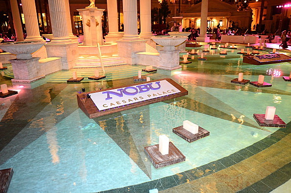 Grand Opening Celebration Of The World's First Nobu Hotel Restaurant And Lounge Caesars Palace