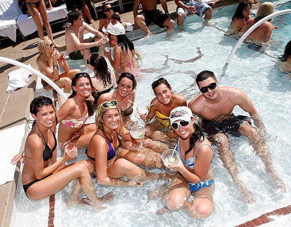 World's Largest Pool Party With Holly Madison